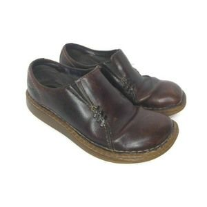 Dr. Doc Martens 3A65 Brown Slip On Leather Loafers